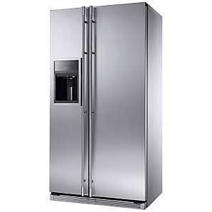 Amana Definition 228FIRS Side by Side Fridge Freezer Stainless Steel