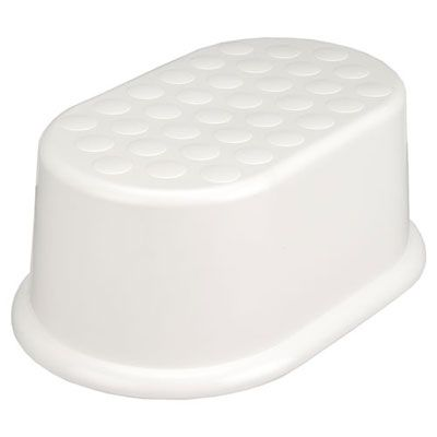 Value Step Stool, White