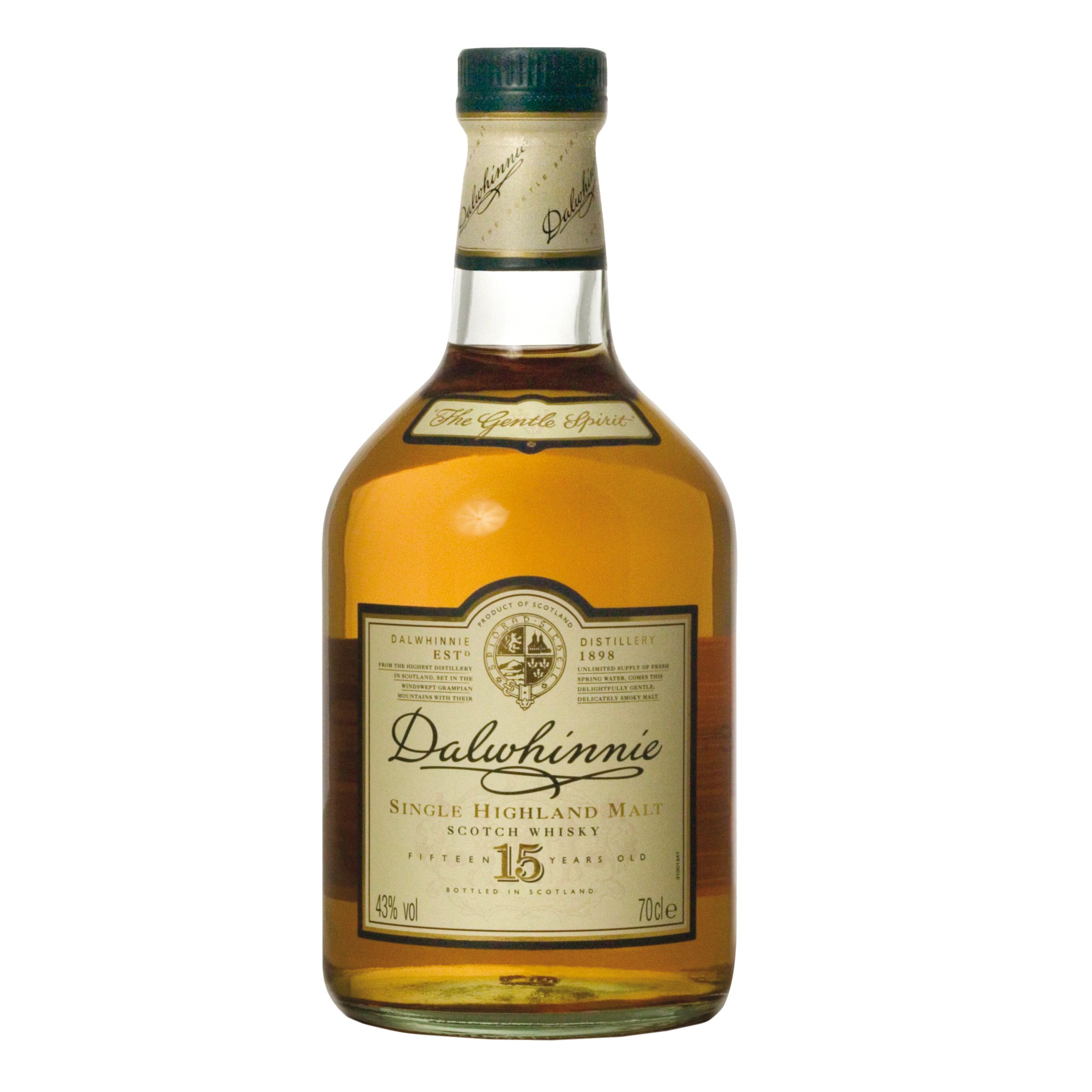 Dalwhinnie 15 Year Old Highland Malt Whisky