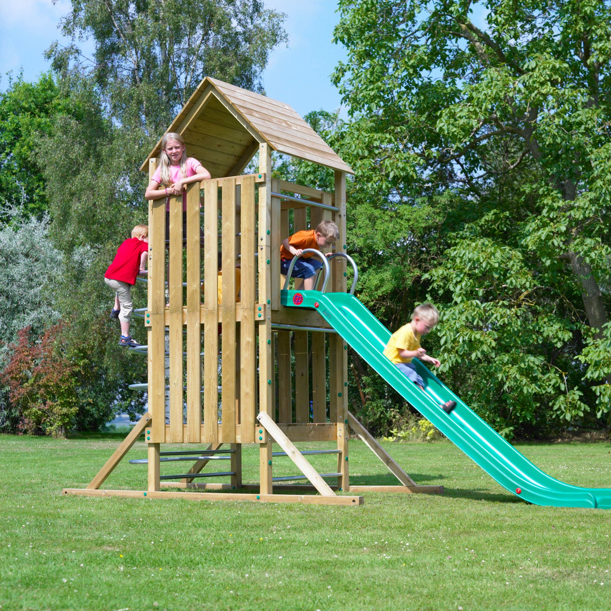 TP Kingswood Full Height Climbing Set