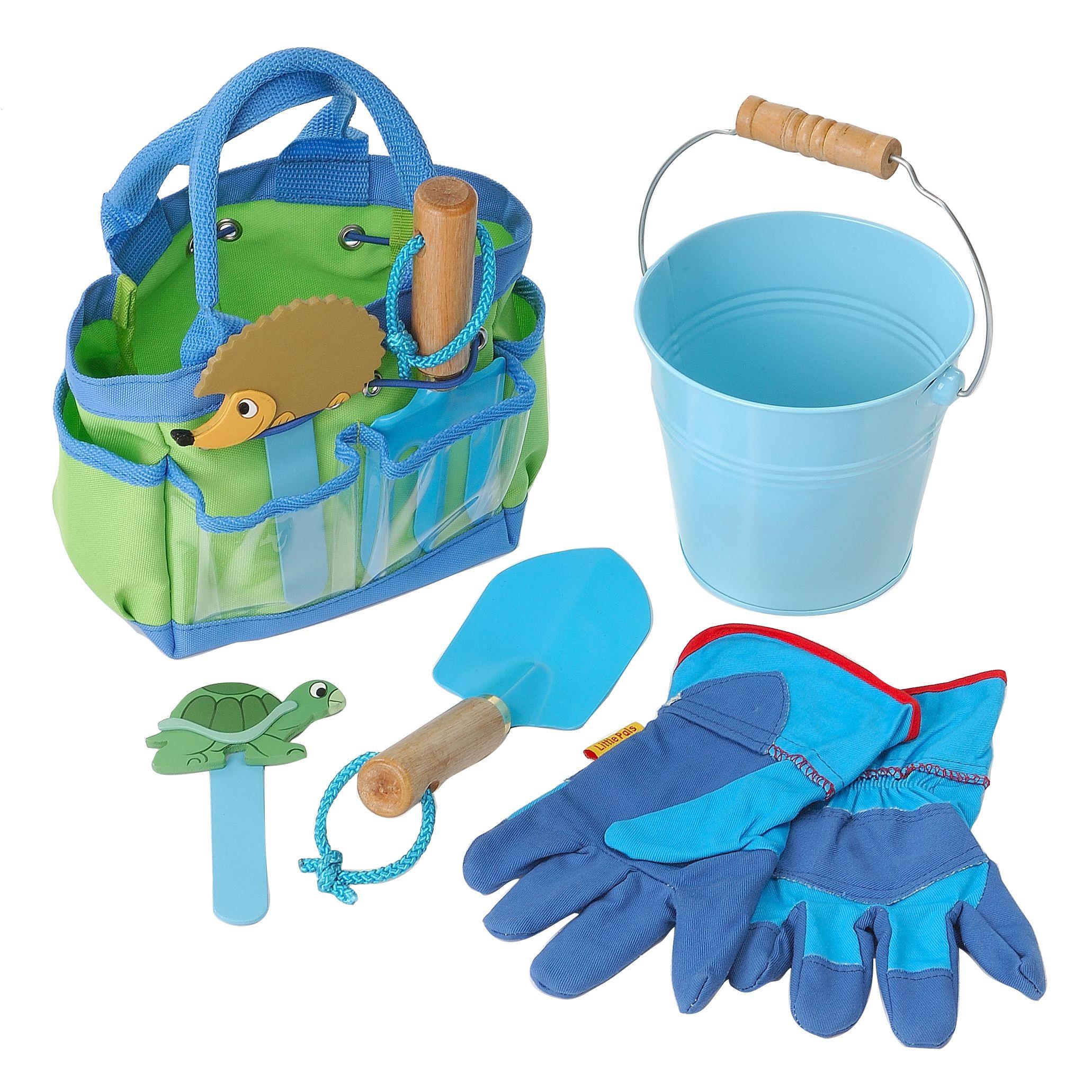 Childrens' Garden Tool Kit, Blue