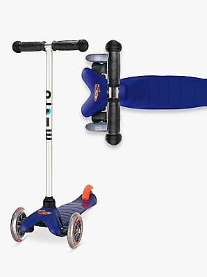 Mini Micro T-bar Scooter, Blue