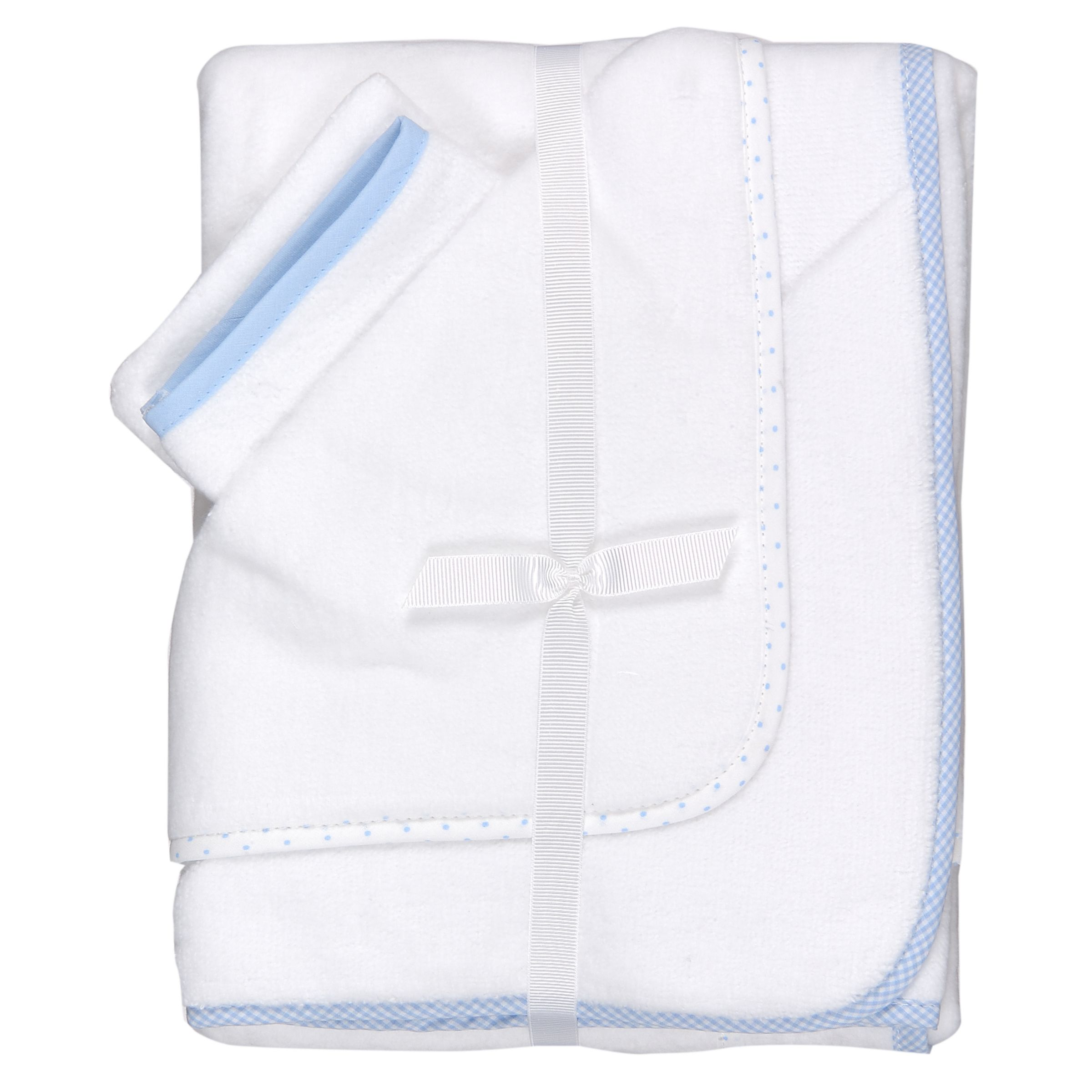 Cuddlerobes, Pack of 2, White and Blue