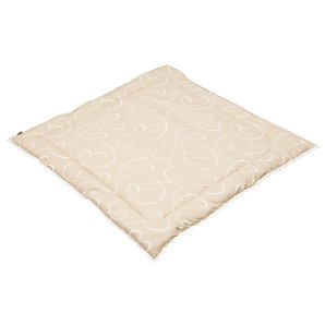Playmat, Beige Hearts