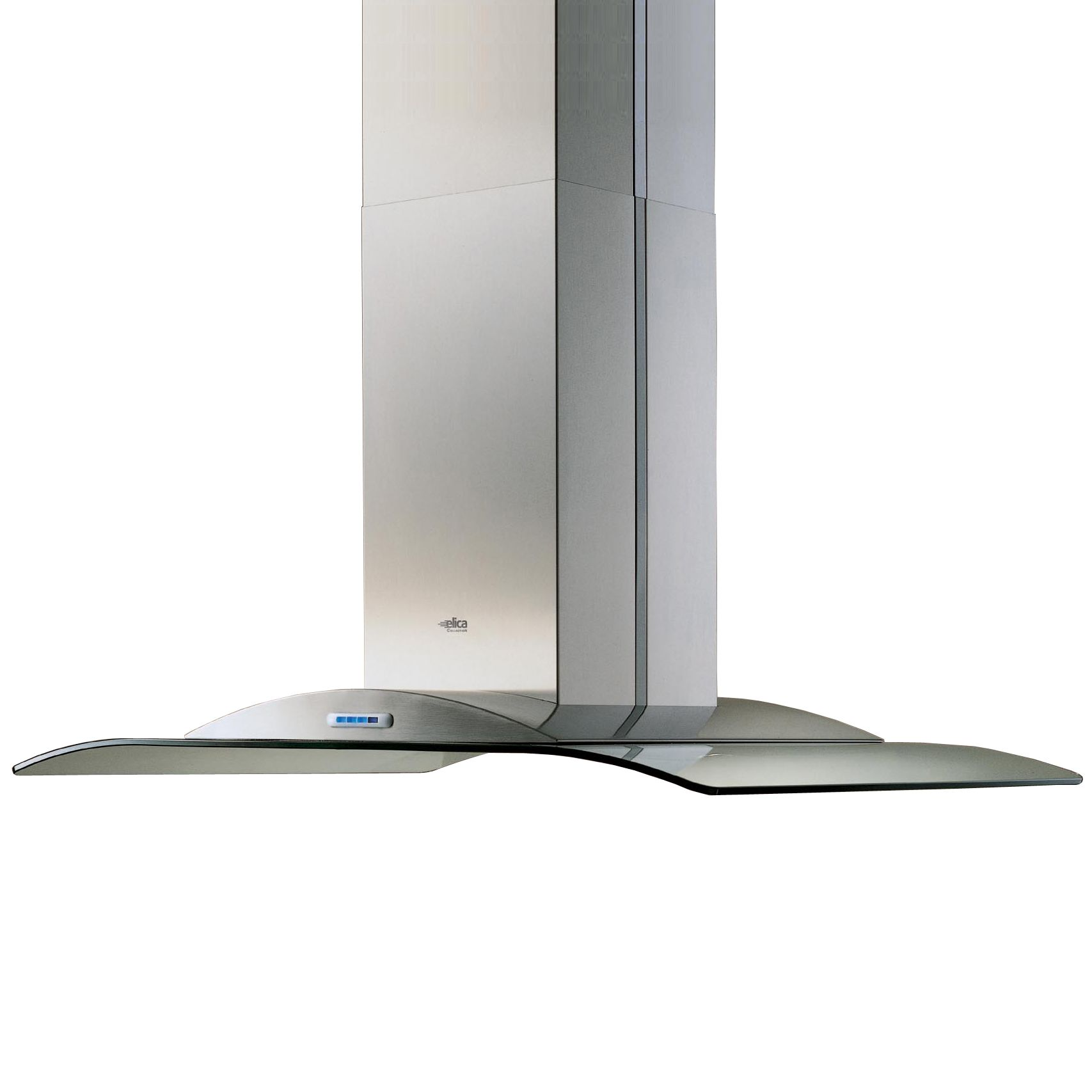 Elica Collection Antarctica Island Chimney Cooker Hood, Stainless Steel