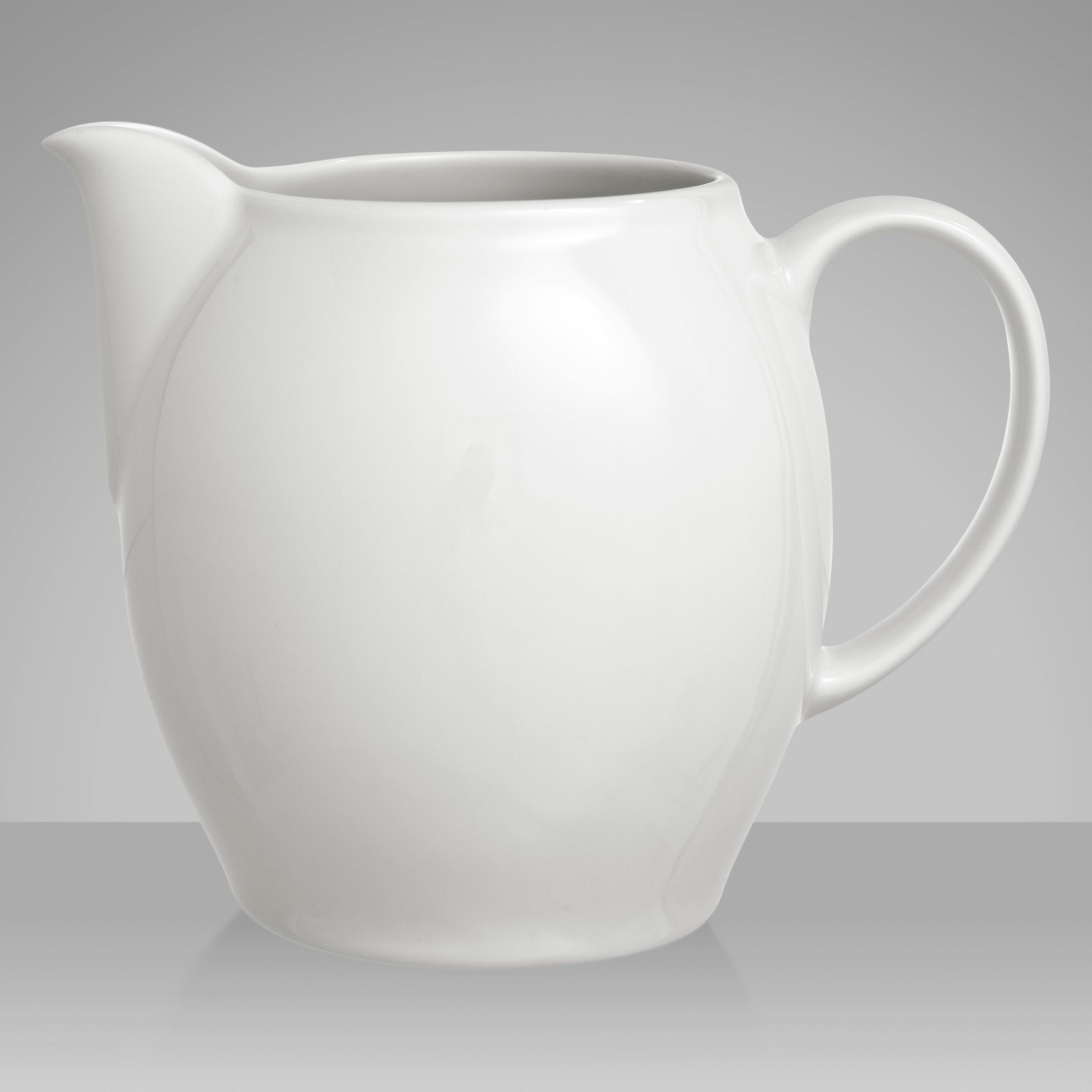 Denby White Small Jug, 0.4L
