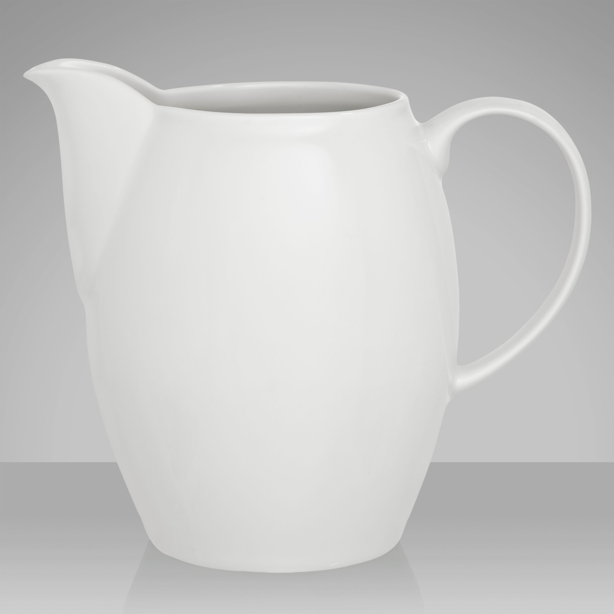 Denby White Large Jug, 0.8L