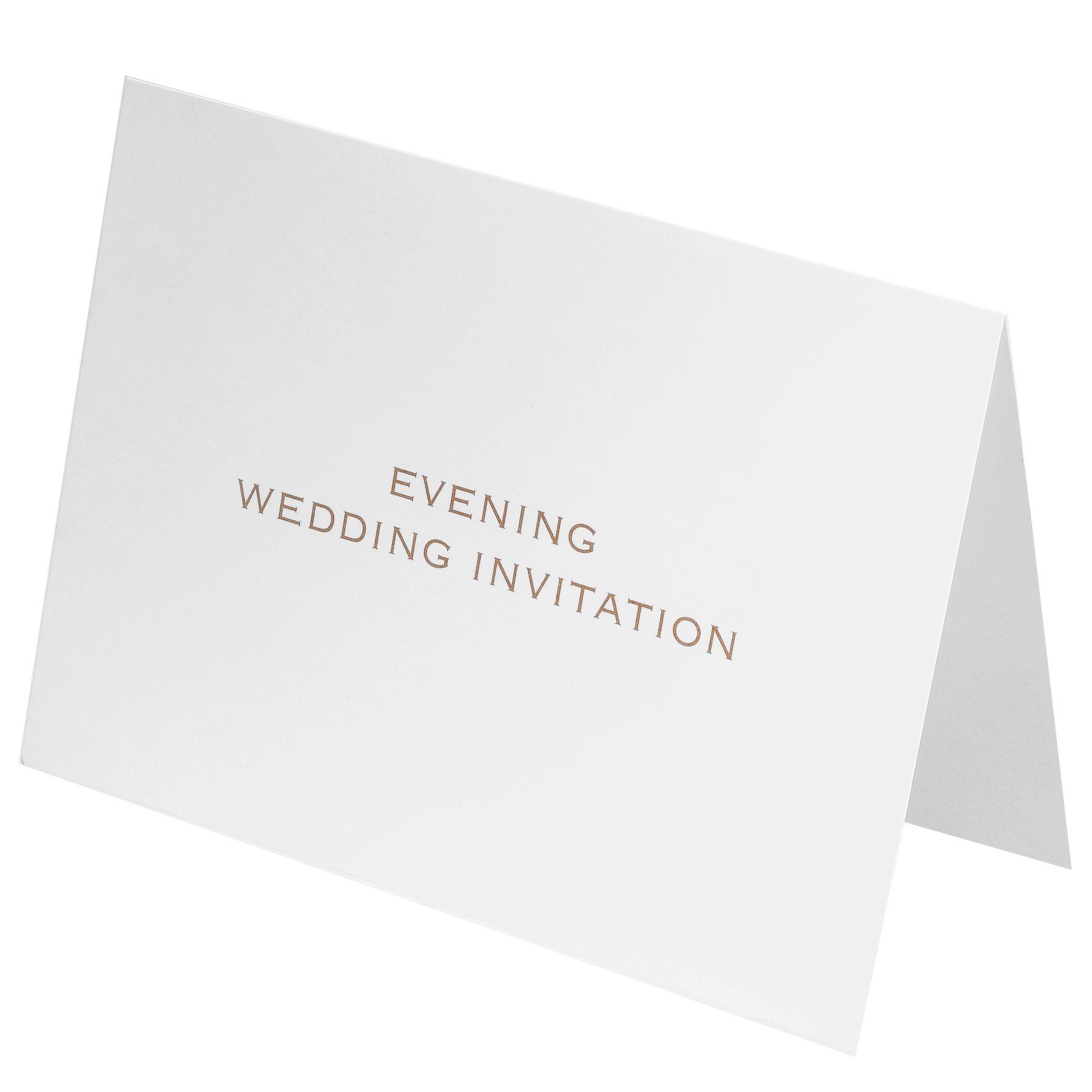 Evening wedding invitations john lewis – Weddings Room