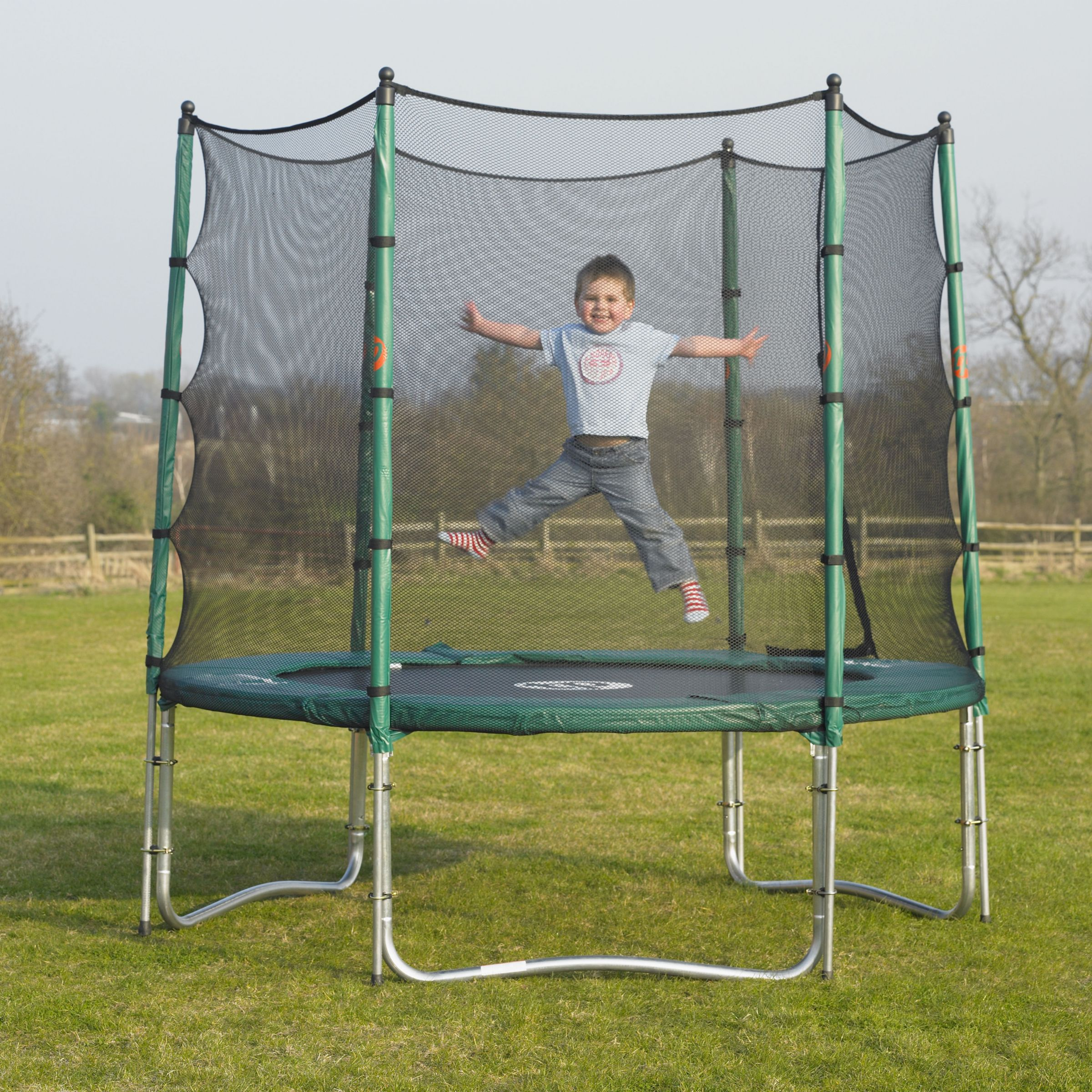 Special Offer TP279 Capital 8ft Trampoline and 8ft Bounce Surround