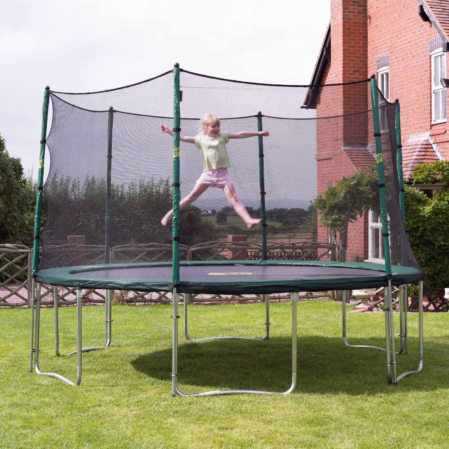Special Offer TP278 10ft Capital Trampoline and 10ft Bounce Surround