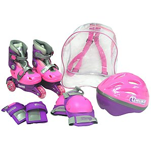 Other Inline Skate Set, Pink