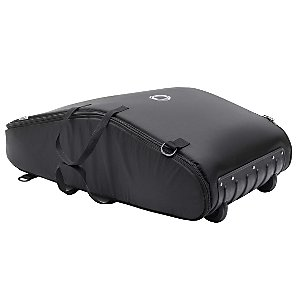 Gecko, Frog and Cameleon Wheeled Transport Bag, Black