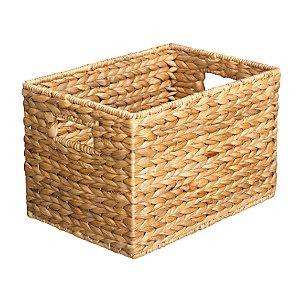 Water Hyacinth Towel Basket