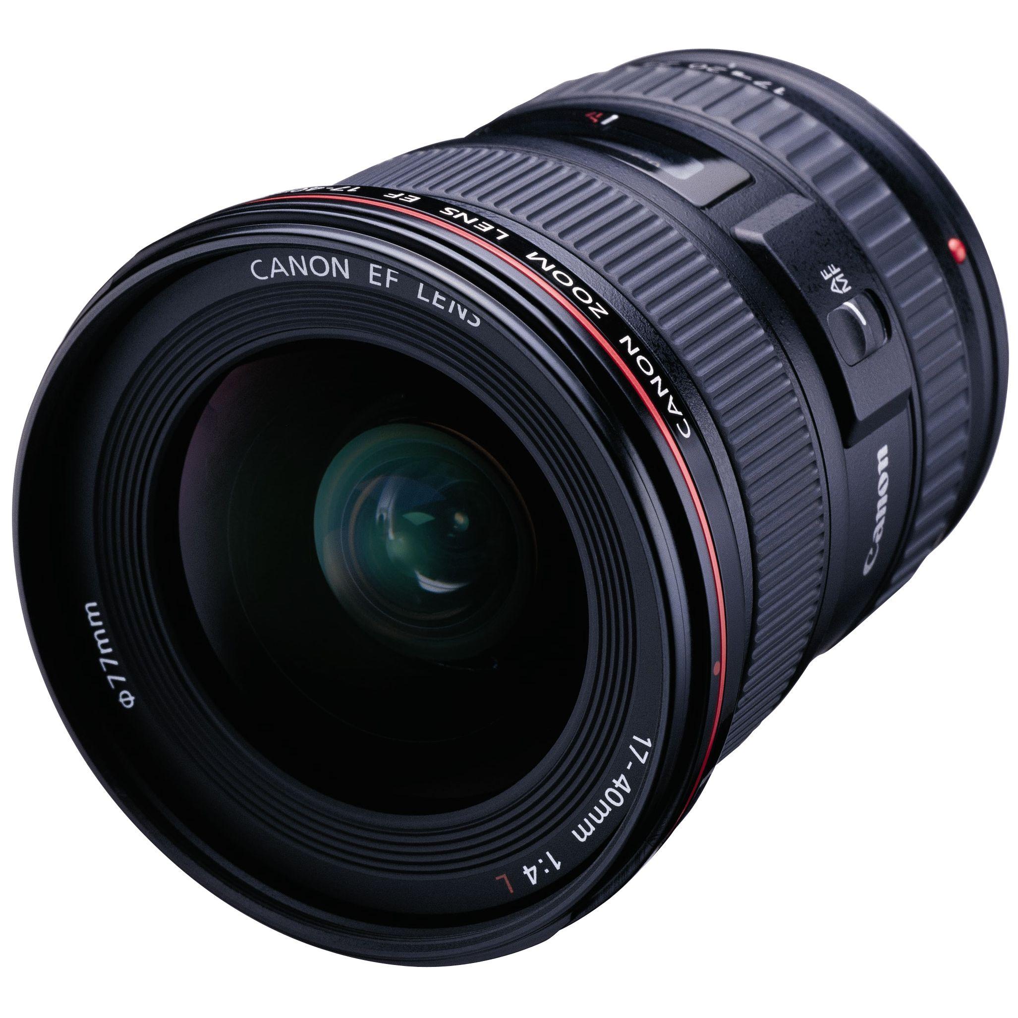 Canon EF 17-40mm f/4.0L USM Lens at John Lewis