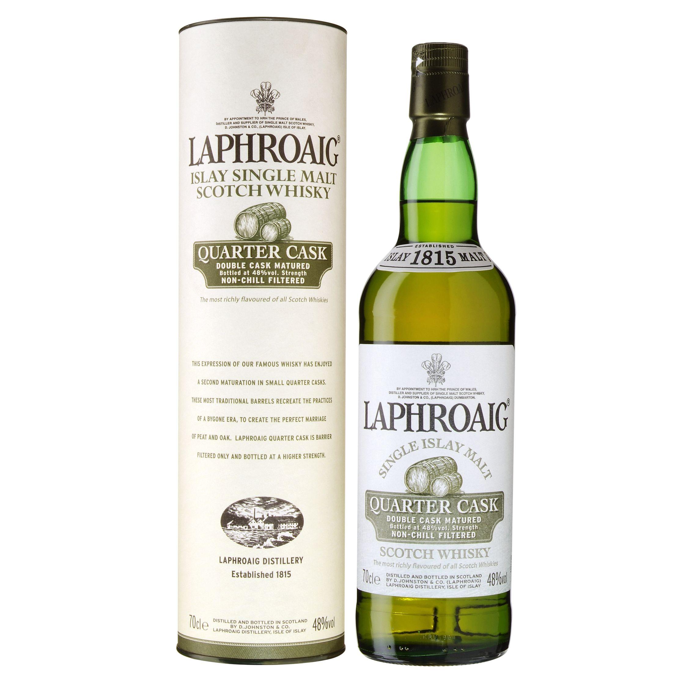 Laphroaig Quarter Cask Malt Whisky