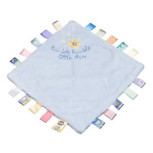 Little Taggies Love Note Fleece, Blue