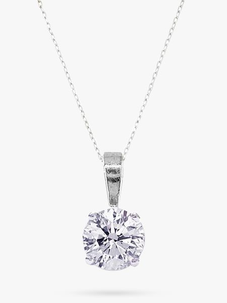 Diamond Pendant Necklace, 0.30 Carat