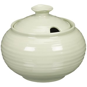 Sophie Conran for Portmeirion Covered Sugar Bowl, Sage