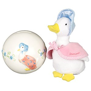 Border Fine Arts Jemima Money Bank and Soft Toy