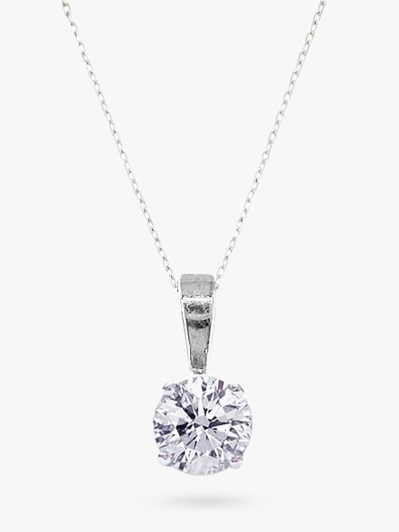 London Road 0.20 Carat Diamond Necklace