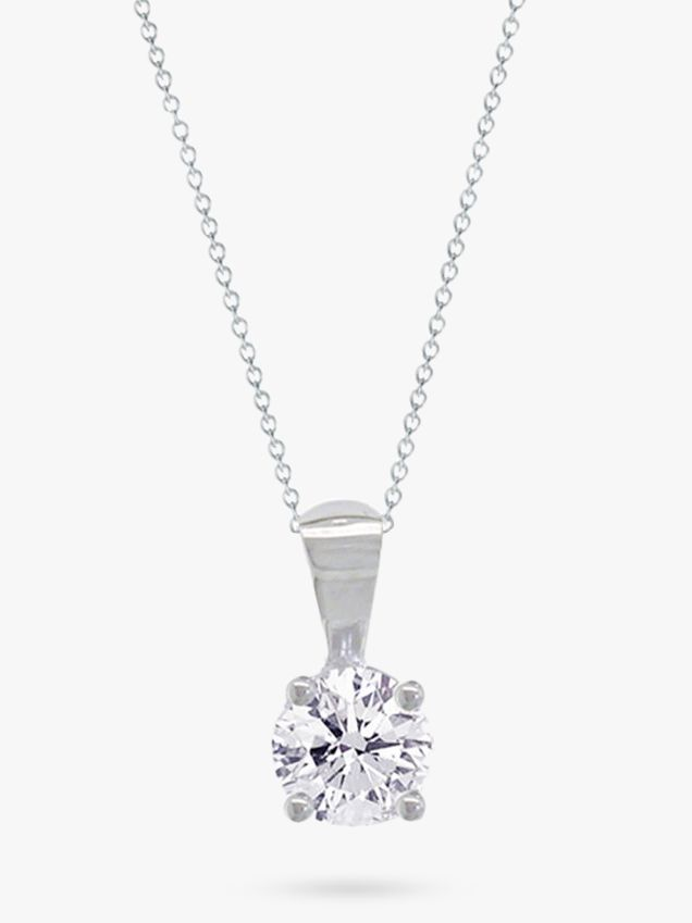 Diamond 0.12 Carat Pendant Necklace