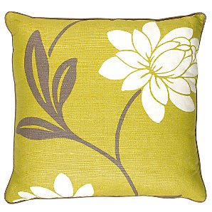 Buy Saiuri Cushion, Lime online at JohnLewis.com