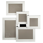 John Lewis Brushed Aluminium Photo Frame