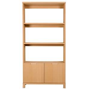 Abacus Bookcase, Beech