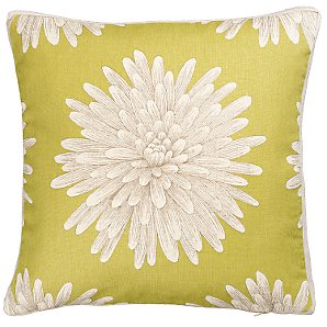 Buy Harlequin Kalaya Eloni Cushion, Green online at JohnLewis.com :  lime pillow bold flowers pillow lime