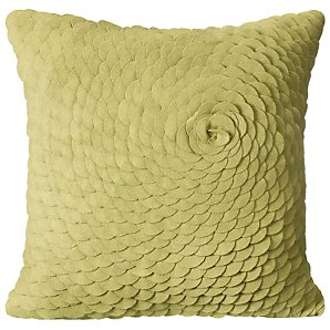 Buy Plume Cushion, Green online at JohnLewis.com