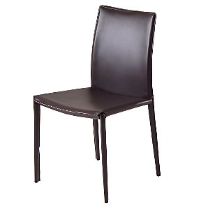 John Lewis Anita Dining Chair, Chocolate