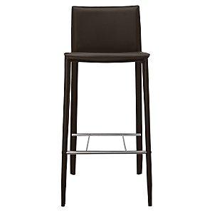 John Lewis Anita Bar Chair, Chocolate