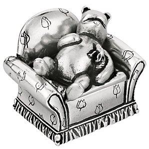 Winnie the Pooh Royal Selenagor Pewter Winnie the Pooh Trinket Box