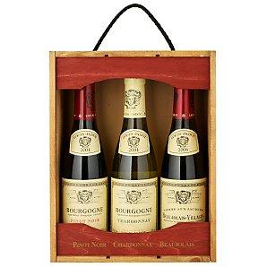 Louis Jadot Wine Set, 3 x 37.5cl
