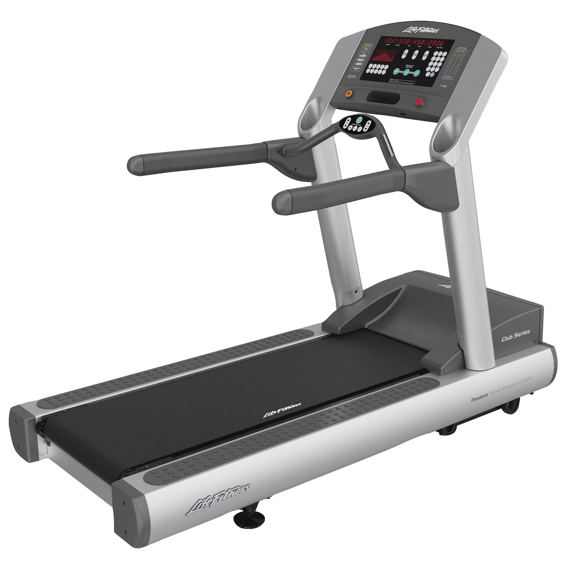 Life Fitness Club Series Treadmill at John Lewis