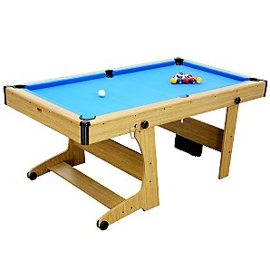 6ft Folding Pool/Dart/Table Tennis Table