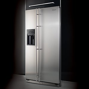 Amana Definition 628FIRS Side by Side Fridge Freezer Stainless Steel