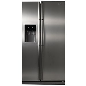 Samsung RSH1DBR Side by Side Fridge Freezer Stainless Steel