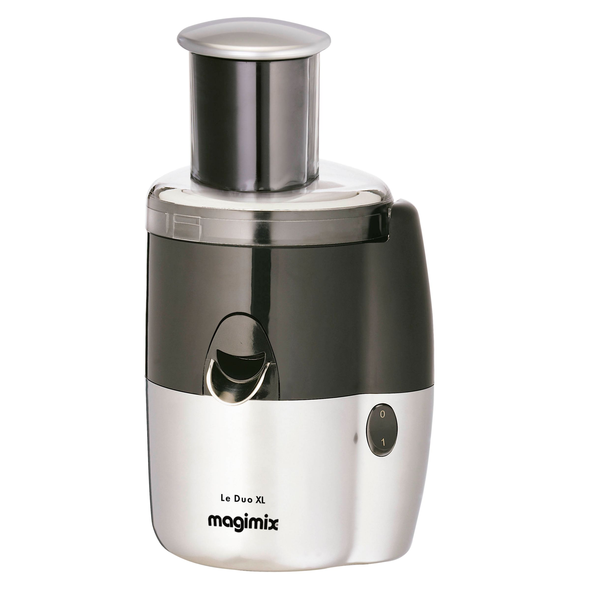 Magimix Le Duo XL Juice Extractor, Satin Steel at John Lewis
