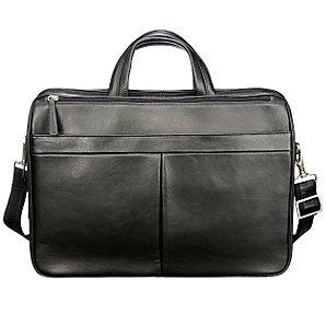 John Lewis Miranda Laptop Bag, Black