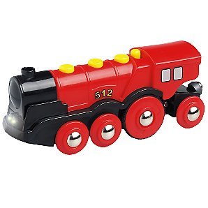 Brio Red Action Locomotive