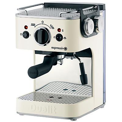 Dualit Espressivo 84202 Coffee Machine, Cream