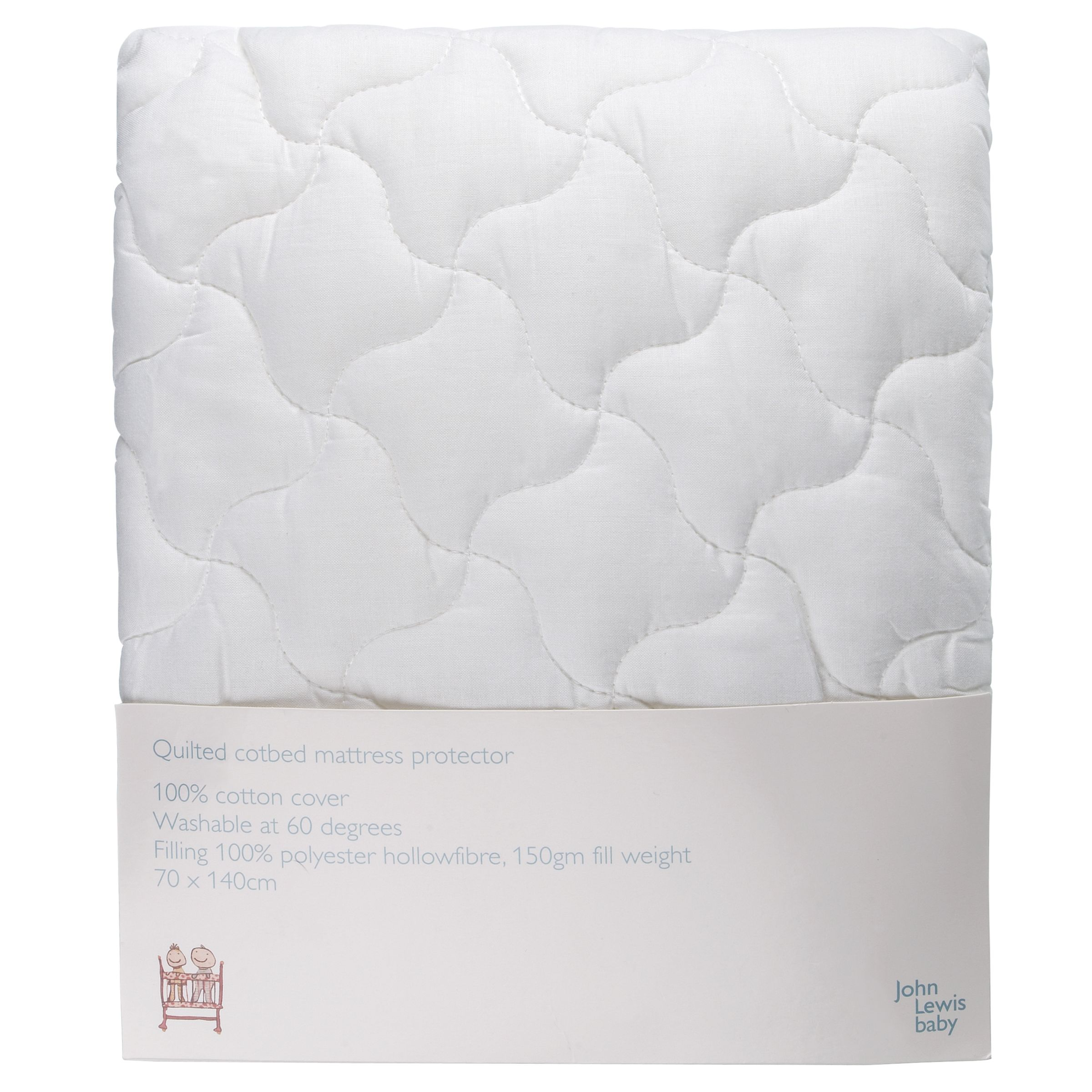 Baby Quilted Cotbed Mattress