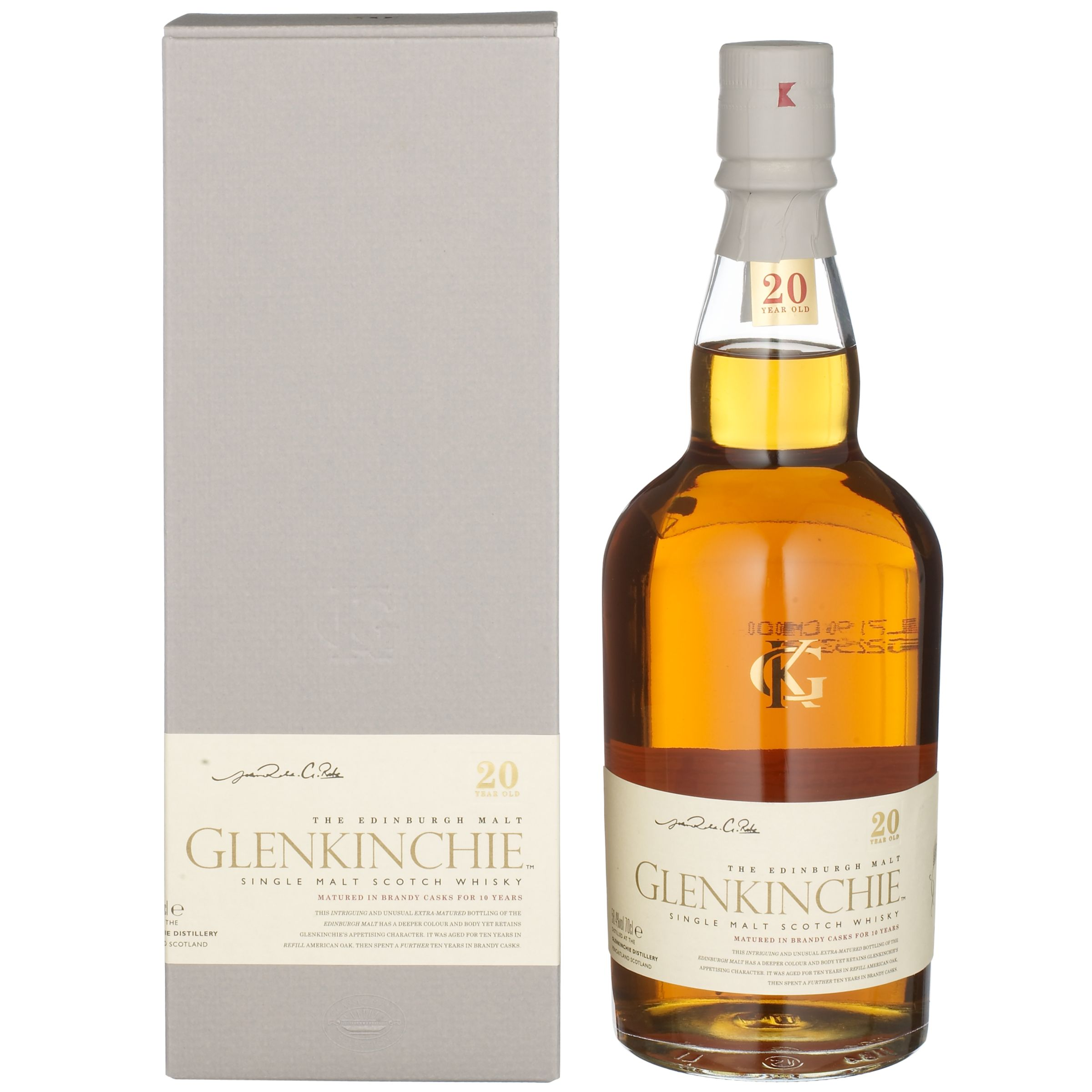 Glenkinchie 20-Year-Old Malt Whisky Single
