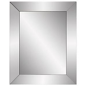 John Lewis Bevel Simple Mirror, Small, H50 x W40cm