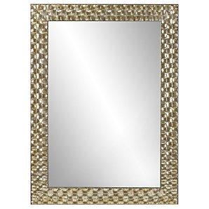 John Lewis Mosaic Mirror, Silver, 90x65cm
