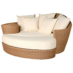 Barlow Tyrie Dune Day Bed and Footstool