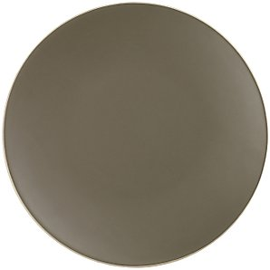 Vera Wang for Wedgwood Naturals Plate, Graphite, 23cm