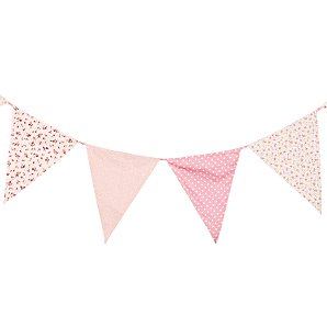 Butterfly Bunting, Pink