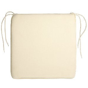 John Lewis Large Seat Pad, Natural